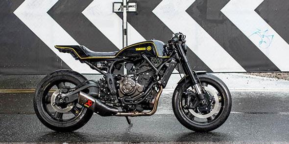 XSR700 Yard Built « Double-style » par Rough Crafts