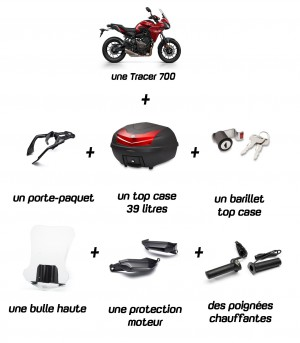 Offre Tracer 700 Travel Pack
