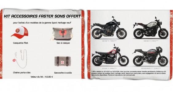 Kit accessoires Faster Sons offert