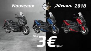 X-Max à 3€ par jour !