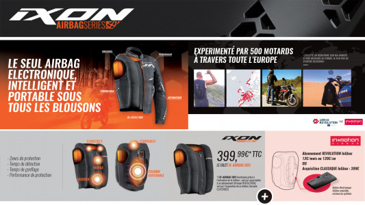 Les gilet airbag Ixon sont arrivés - Actualité de PATRICK PONS GRANDE ARMEE