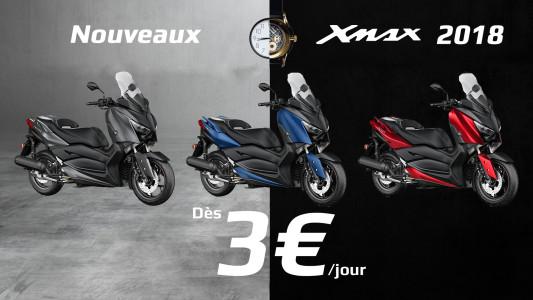 Votre Xmax 2018 dès 3€ par jour - Actualité de PATRICK PONS GRANDE ARMEE